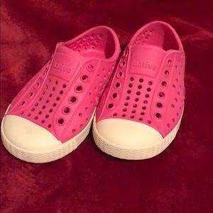 Size 5c Pink Native slip on shoe